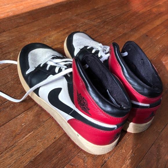 "wholesale dealer 17faa bb576 nike air jordan 1 retro GS ""old love"" sneakers"